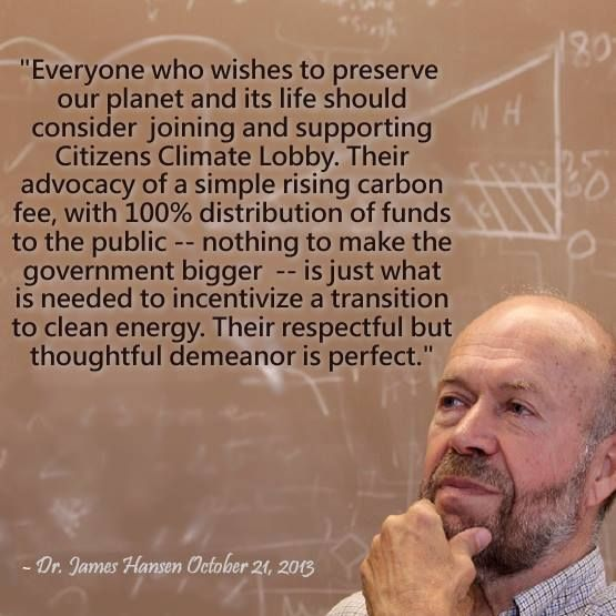 Dr James Hansen and CCL