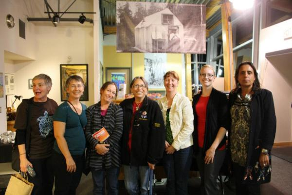 Organizers and presenters at Turtle Island Writing Festival