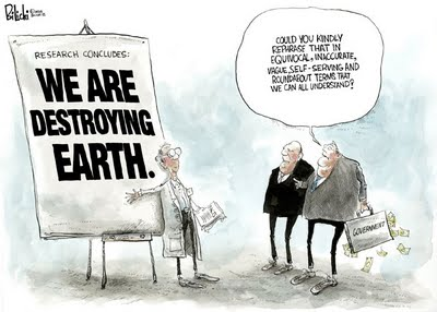 Cartoon: Union of Concerned Scientists
