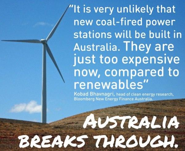 renewables in australia