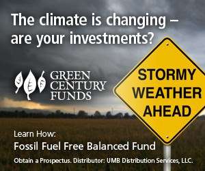 the climate is changing, are your investments
