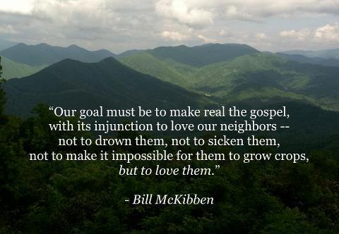 bill mckibben sermon