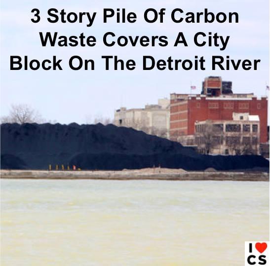 detroit carbon waste
