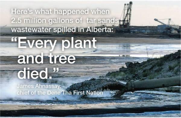 alberta oil spill in dene territory