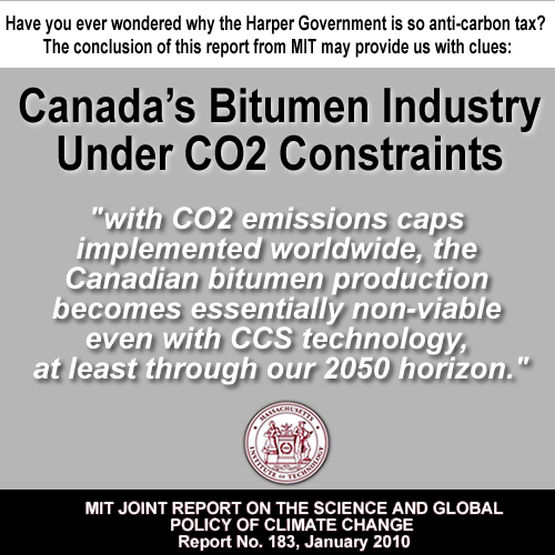 canadian bitumen under carbon pricing