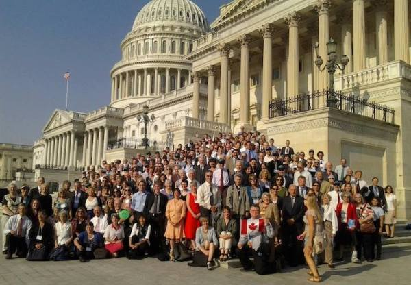 360 citizen lobbyists gather on Capitol Hill to ask for a carbon tax