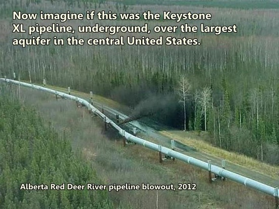 KXL and Red Deer River blowout.