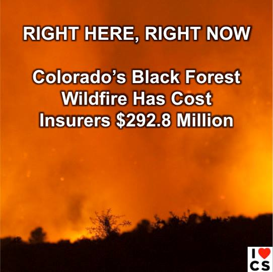 colorado's expensive fires