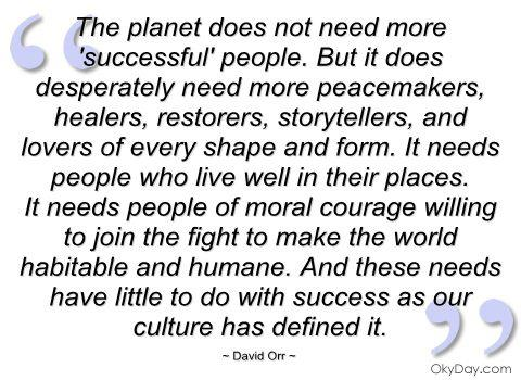 David Orr quote