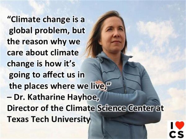 dr katherine hayhoe quote