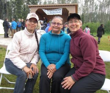 tar sands healing walk. 2013