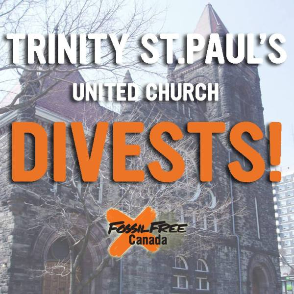 trinity st paul divests