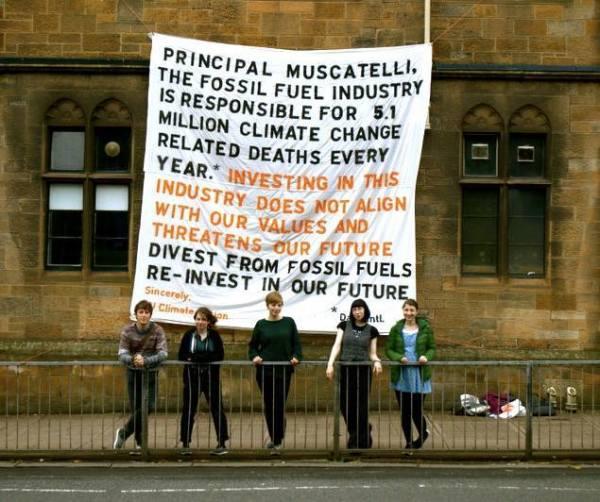 Glasgow University divests
