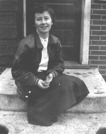 Girl on a stoop.cropped