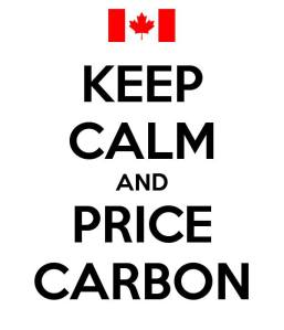 keep calm and price carbon
