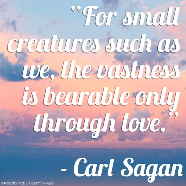 Carl Sagan quote