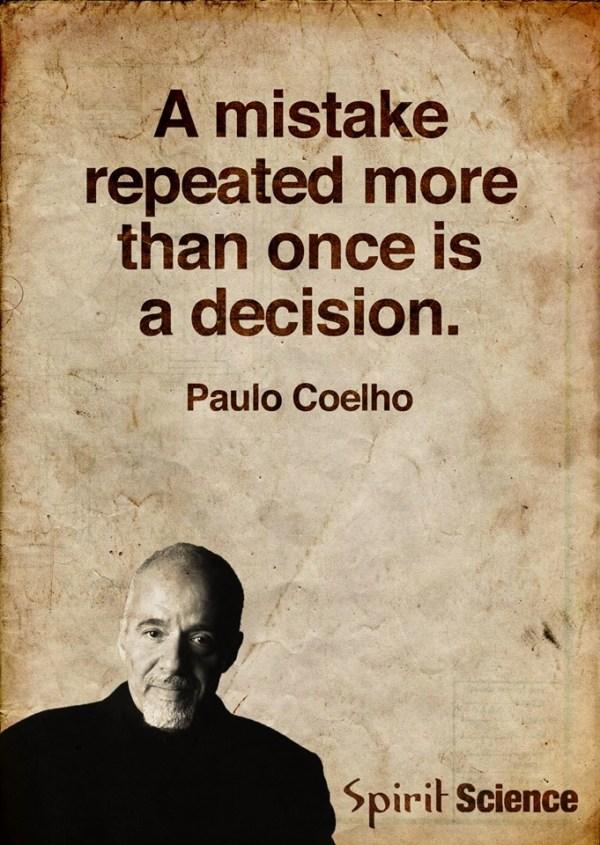 Coelho quote