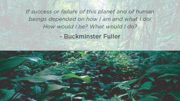 Bucky Fuller quote