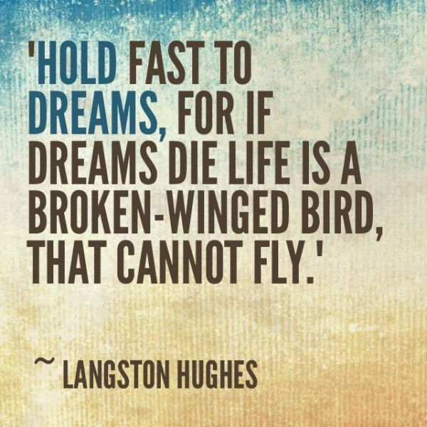 langston hughes dream quote
